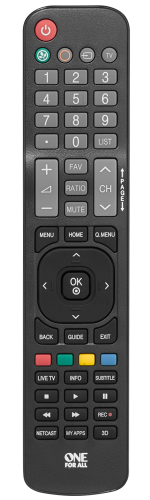 URC1811 LG Replacement Remote